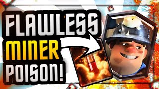 100% PERFECT Gameplay w/ Miner Poison Cycle/Chip Deck Pro Tips ft. SirTag