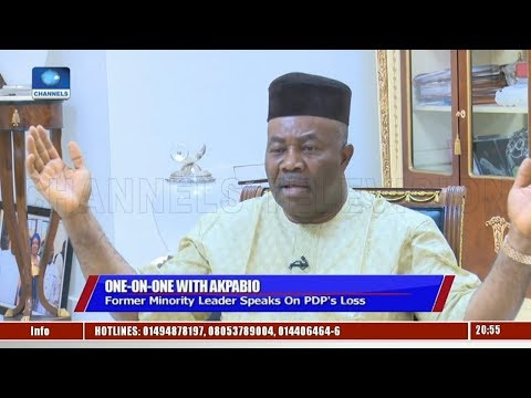 Akpabio Alleges Foul Play At Senatorial Polls, Reveals Why PDP Lost Elections
