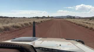 Great Victoria Desert. North bound with magnificent landscape.