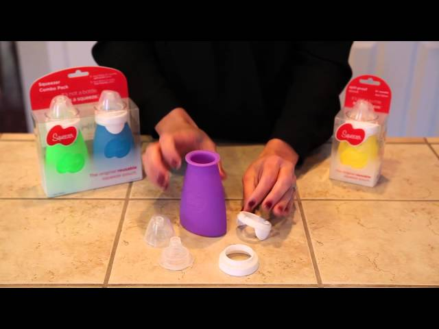 Squeezer Assembly Instructions