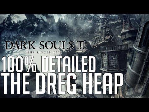 Dark Souls 3 The Ringed City DLC 100% Detailed Walkthrough #1 The Dreg Heap
