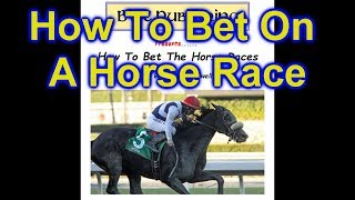 How to Bet Horse Races - Win, Place, Show, Double, Exacta and More
