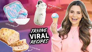 I Tested VIRAL Ice Cream RECIPES To See If They Work - Part 5 thumbnail