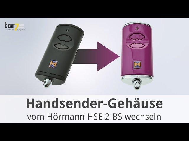 Produktvideo Hörmann Ersatz-Gehäuse für Handsender HSE 2 BiSecur