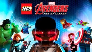 LEGO Marvel Vengadores La Era De Ultron  Pelicula Completa Español  The Avengers  Game Movie 2016