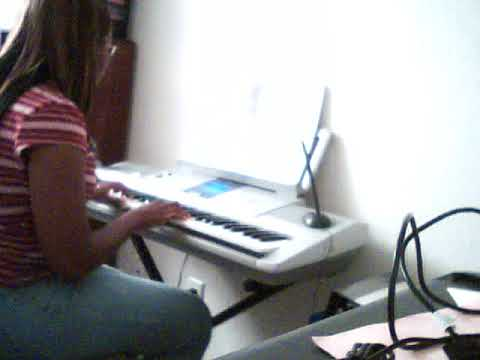 "Me practicing ""Colors of the Wind"" in 2011."