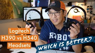 Logitech H390 vs Logitech H540 Review and Recommendation