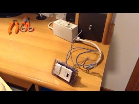 Collegare un interruttore bipolare per proteggere e scollegare un caricatore USB