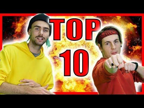 TOP 10 NAJHORŠÍCH VIDEÍ v súťaži o YTB kanál