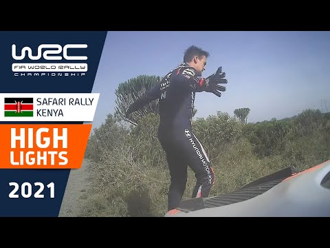 ソルドとエバンスがリタイア。WRC 2021 WRC第6戦ラリー・ケニア SS2-4のハイライト動画