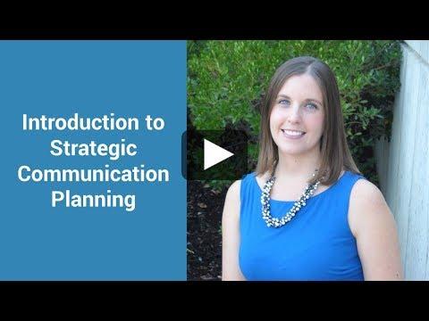 Introduction to Strategic Communication Planning - YouTube