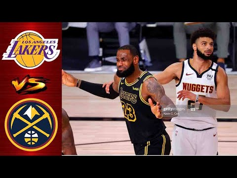 Los Angeles Lakers vs Denver Nuggets Full Highlight 2nd QTR | Game 3 West Final | NBA Playoff 2020
