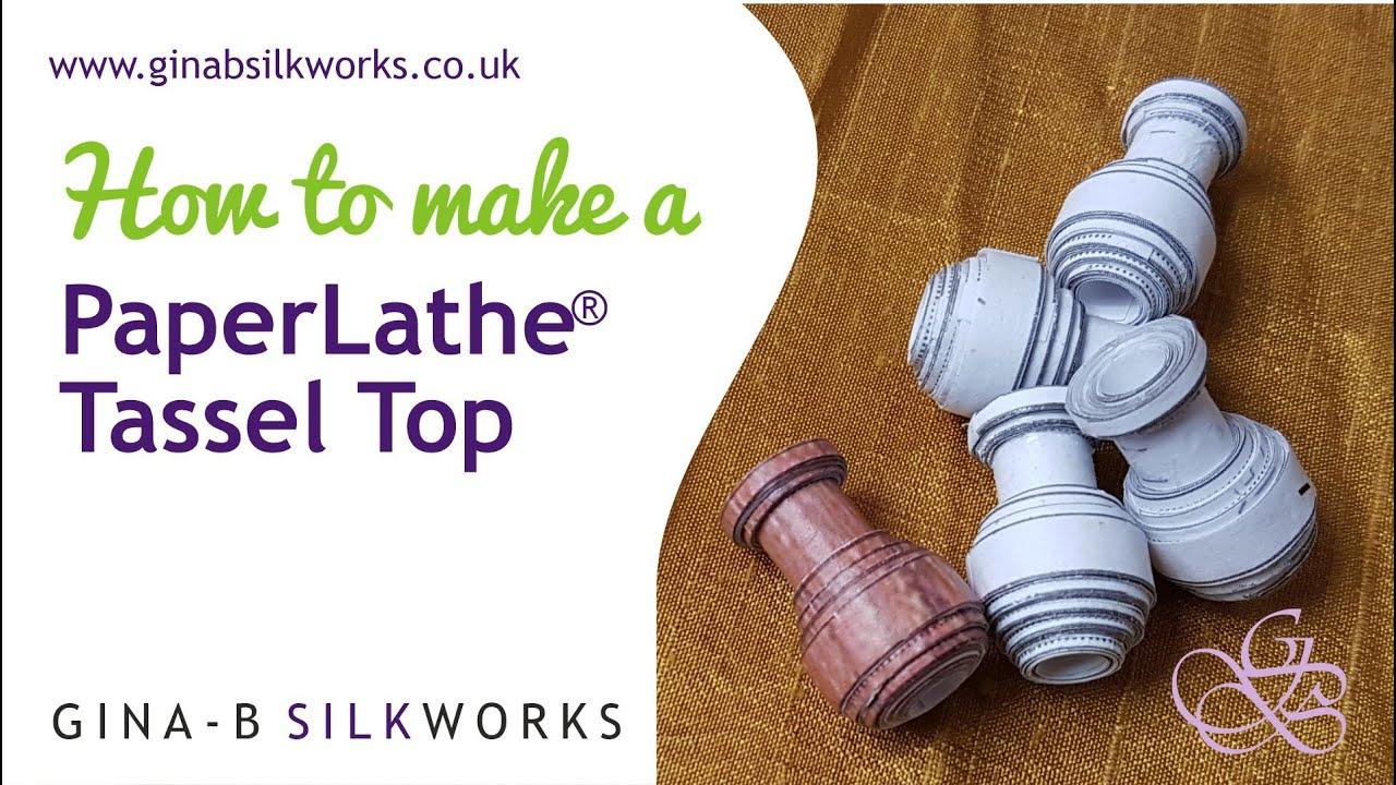 How to Make a PaperLathe Tassel Head