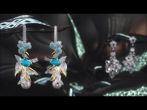 Bluestone Flower - Elegance inspired by nature jewellry presentation