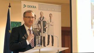 DEKRA - Stefan Kölbl - Verkehrssicherheitsreport 2015