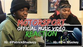 Migos, Nicki Minaj, Cardi B   MotorSport   REACTION