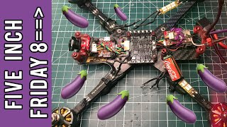 Five Inch Friday - Finishing the FPV Cycle Basher Glide