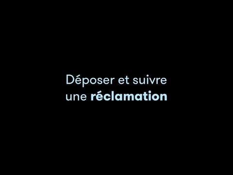 TUTO VIDEO MOLLATPRO - Déposer et suivre une réclamation 2