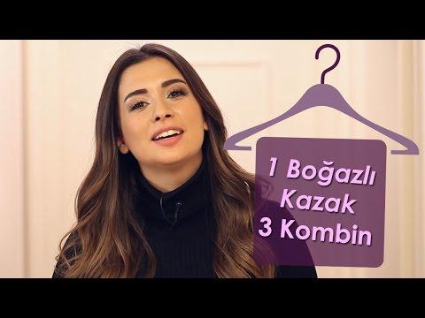 Boğazlı Kazak 3 Kombin | Buse Terim