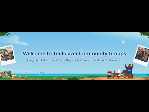 Join Trailblazer Community Groups and to learn Salesforce