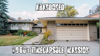ABANDONED 1960s Time Capsule MANSION (Forgotten Homes Ontario Ep.37)