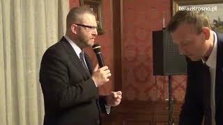 Spotkanie z Grzegorzem Braunem w Krośnie