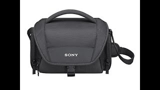 Sony LCS-U11 Soft Carrying Case for Camcorders UNBOXING