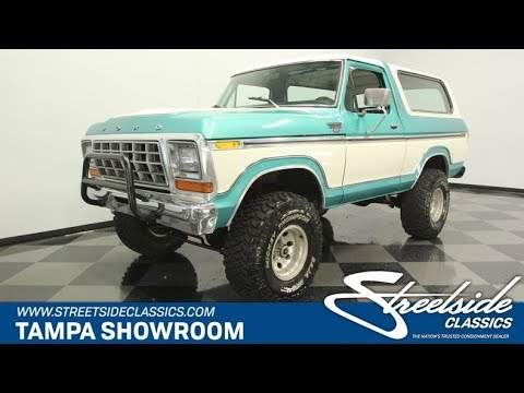 Video of '78 Bronco - Q2EO