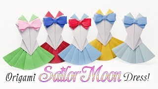 Origami Sailor Moon Dress Tutorial  DIY