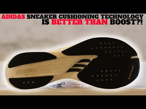 This adidas Sneaker Cushioning Technology is BETTER Than BOOST?