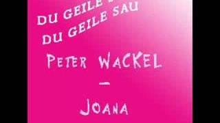 Peter Wackel - Joana