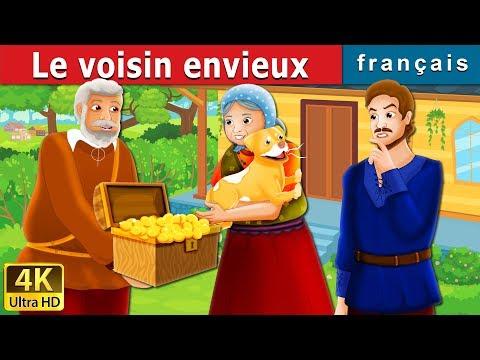 Le voisin envieux | The Envious Neighbour Story in French | Contes De Fées Français