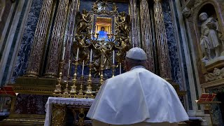Pope Francis Prays for an End to the Pandemic