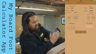 My Board Foot Calculator App