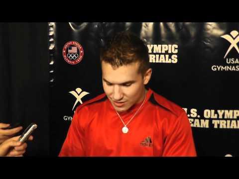 Jonathan Horton - Interview - 2012 U.S. Olympic Trials