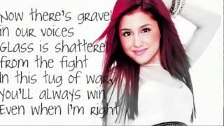 Ariana Grande    Love The Way You Lie LYRICS!