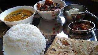 Veg Thali In 30 Minutes