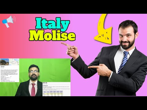 Italy Molise residence program, Euro 24000 I Euro 8000 per year Reality in English