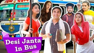 Types Of People In Desi Bus   Part 2 | Lalit Shokeen Films |