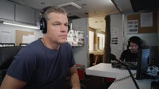 """Matt Damon surpreende pessoas com """"A espera pela água"""""""