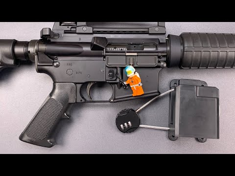 Lockpickinglawyer picks a gun lock with a lego