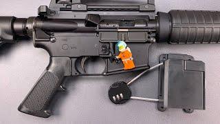 [1024] AR-15 Lock Defeated With LEGO Astronaut!