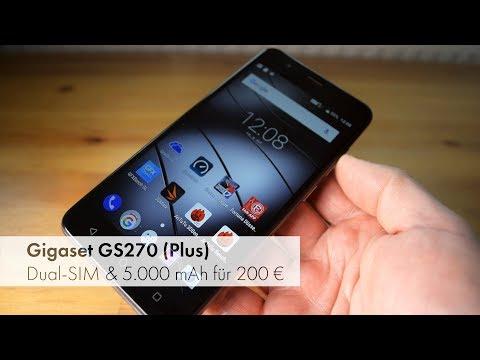 Gigaset GS270 (Plus)   5.000 mAh und Dual-SIM für 200 Euro im Test [Deutsch]