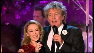 Rod Stewart & Kylie Minogue - Let it Snow
