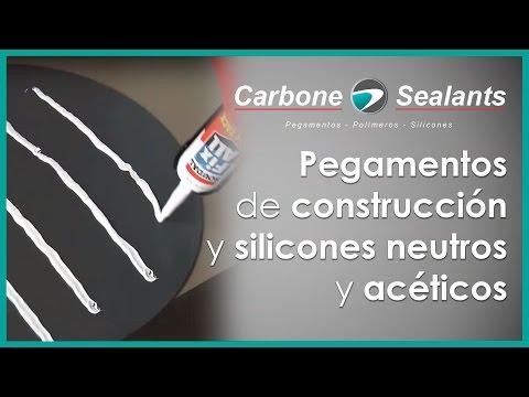 Pegamentos de construcción y silicones neutros