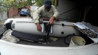 Универсальный крепежный блок для лодок колибри