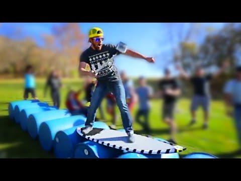 SUMMERTIME BOREDOM - Barrel Surfing! // @ScottDW