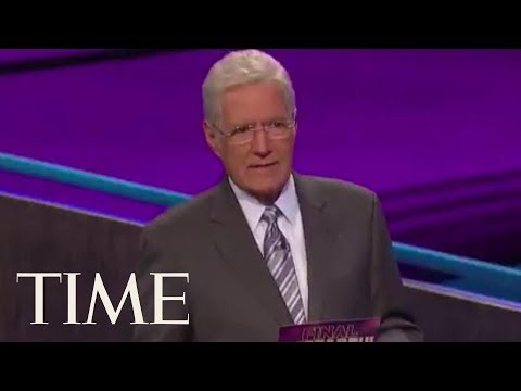 Alex Trebek Moved To Tears Over A Touching Final Jeopardy Answer   TIME