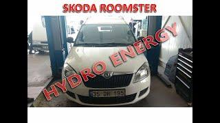 Skoda Roomster hidrojen yakıt sistem montajı