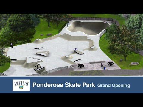 Anaheim Ponderosa Skate Park Grand Opening